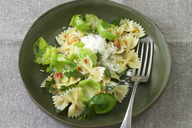 Farfalle and Brussels Sprouts Toss Image 1