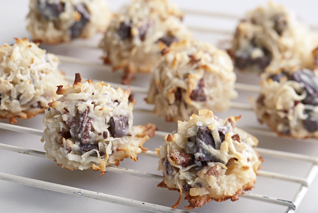 Macarons aux gros morceaux de chocolat Image 1