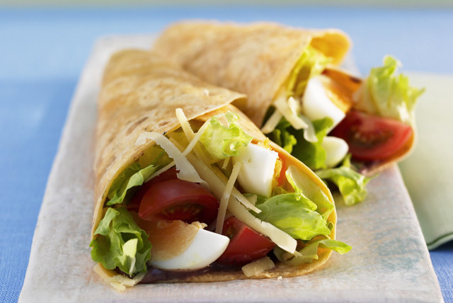 Egg Salad Wrap Image 1