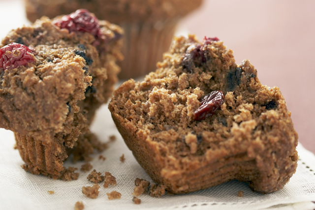 Cranberry-Bran Muffins Image 1