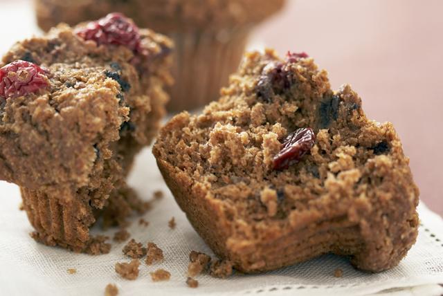 Muffins au son et aux canneberges Image 1