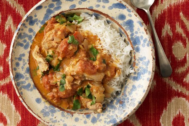Poulet thaï au cari rouge, cuit à la mijoteuse