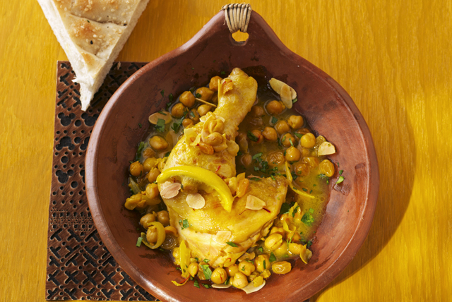 Slow-Cooker Moroccan Chicken and Chickpea Stew