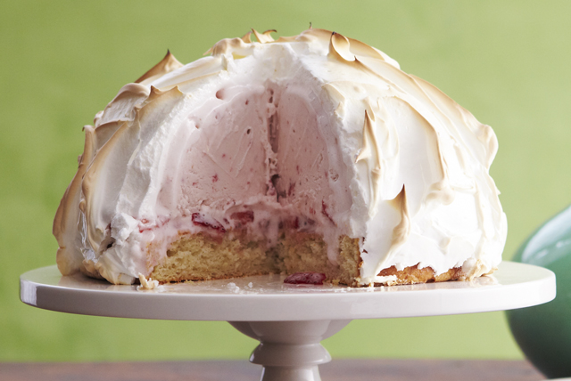 Strawberry Shortcake Baked Alaska Recipe - Kraft Canada