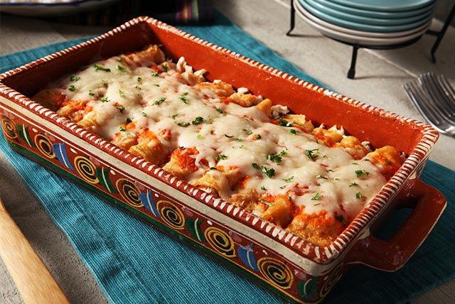 Entomatadas au poulet et au fromage Image 1