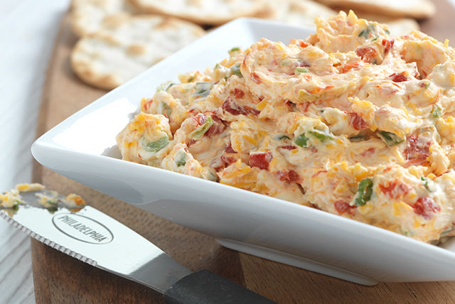 Roasted Red Pepper-Cream Cheese Appetizer Spread Image 1