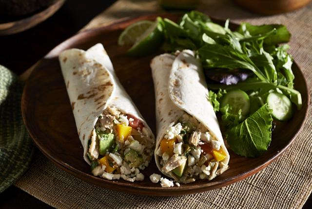 Tacos au poulet, au féta et à la mangue Image 1