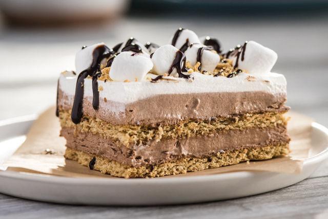 « Gâteau » choco-guimauve sans cuisson Image 1