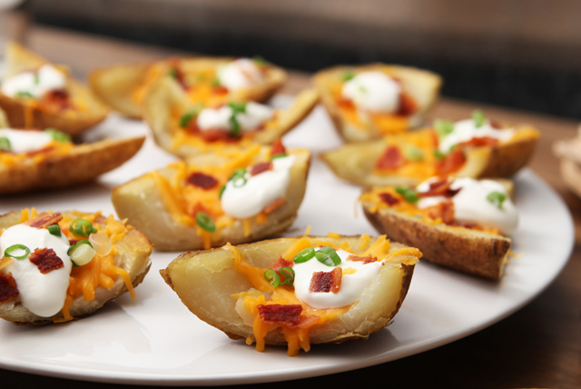 Loaded Potato Skins Kraft What S Cooking