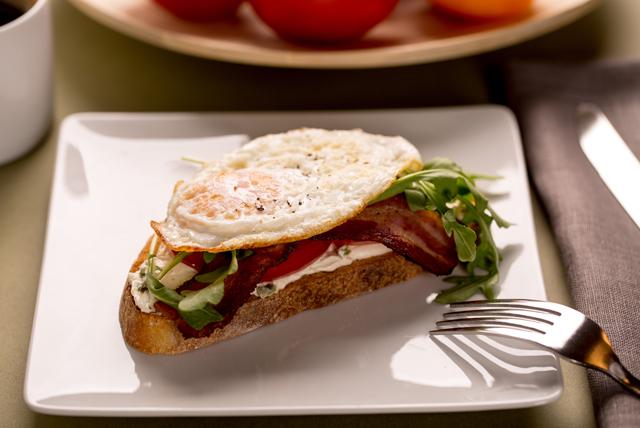 Sandwich ouvert «BLT» Image 1