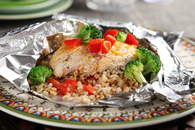 Foil-Packet Southwestern Chicken Dinner Made Over