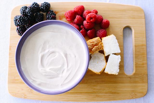 Trempette à la crème sure et à la cassonade Image 1
