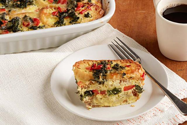Quiche au fromage et aux légumes Image 1