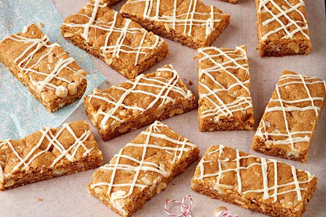 Barres au chocolat blanc et au caramel écossais Image 1