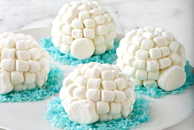 Igloo Cupcakes
