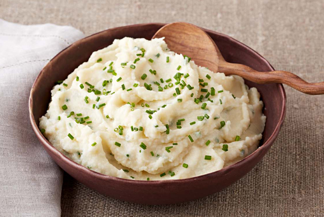 Cheesy Celery Root and Mashed Potatoes Image 1
