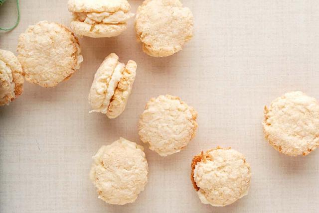 Biscuits-sandwichs à la noix de coco Image 1