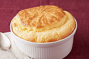 Easy Three-Cheese Soufflé