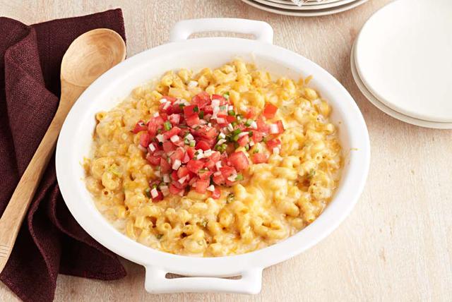 Macaroni au fromage et aux chilis verts Image 1