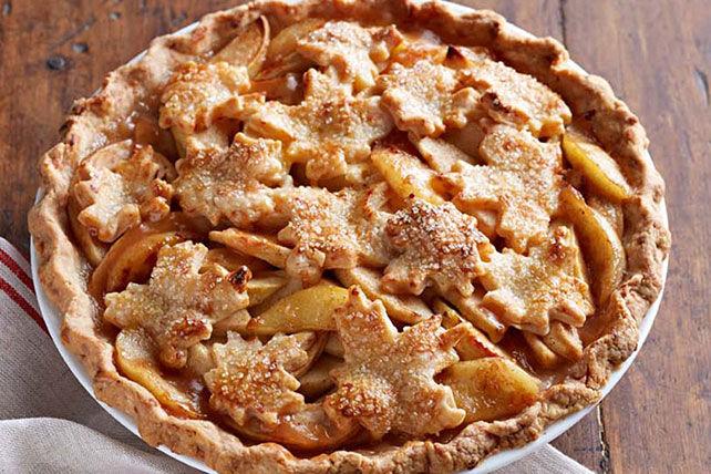 Tarte aux pommes à croûte fromagée
