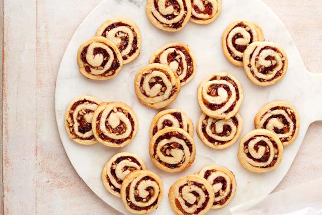 Cranberry-Cream Cheese Pinwheel Cookies Image 1