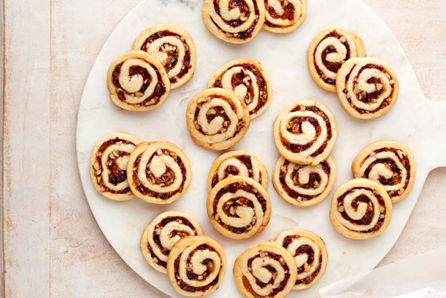 Biscuits spirales aux canneberges et au fromage à la crème Image 1