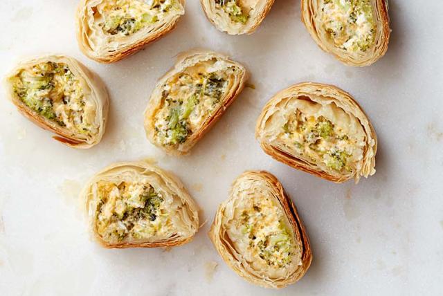 Rouleaux épicés au brocoli et au fromage Image 1