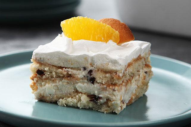 Gâteau cannoli à l'orange réfrigéré Image 1