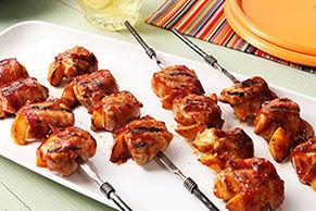 Kébabs de poulet au chipotle et au bacon Image 1