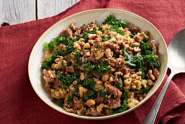 Italian Sausage and Kale Stuffing