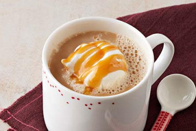Latte au caramel et aux épices pour tarte à la citrouille Image 1