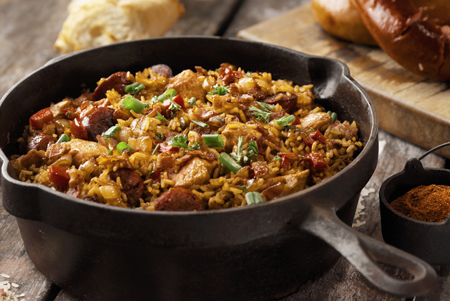 Sausage and Chicken Jambalaya Image 1