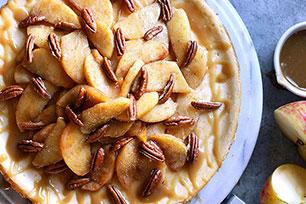Caramel- Apple Pecan Cheesecake