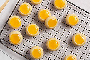 Lemon 'Curd' Cookies