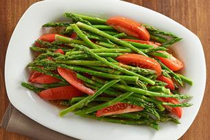 Asparagus and Tomatoes Italian