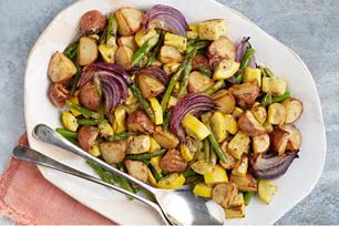 Oven-Roasted Dijon Vegetables