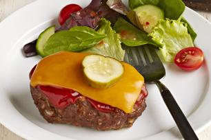 Mini Cheeseburger Meatloaves
