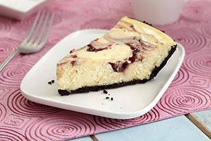PHILADELPHIA 3-Step White Chocolate-Raspberry Swirl Cheesecake