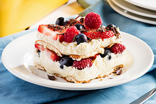Easy Berry Layered Dessert