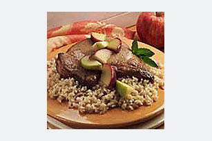 30-Minute Pork Chop 'N Apple Rice Skillet Image 1