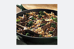 20-Minute Teriyaki Steak & Brown Rice Dinner Image 1