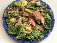 Caesar Tortellini Steak Salad