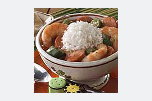 30-Minute Shrimp and Sausage Gumbo Image 1