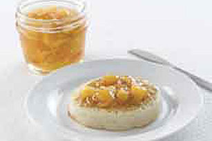 30 Minutes to Homemade SURE.JELL® Peach-Apricot Freezer Jam Image 1
