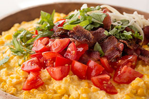 Tomato and Bacon Creamed Corn Casserole Image 1