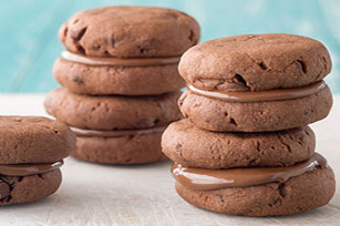 Double Chocolate Sandwich Cookies Image 1