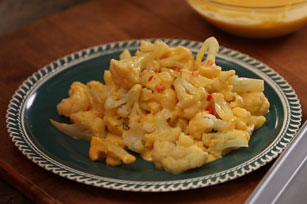 Utokia's Cauliflower in Bell Pepper and Cheese Sauce Image 1