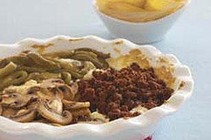Spicy Mushroom-Chorizo Cheese Dip