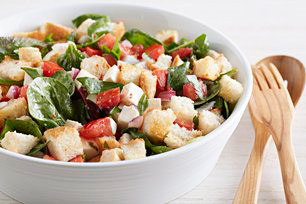 Bruschetta Salad with Mozzarella