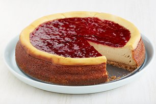 Peanut Butter and Jelly Cheesecake Image 1